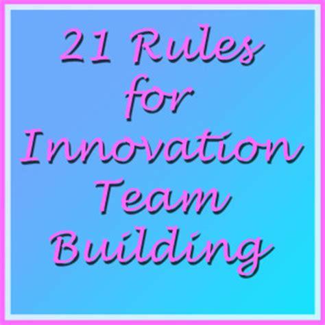Gregg Fraley, Creativity & Innovation  21 Rules For