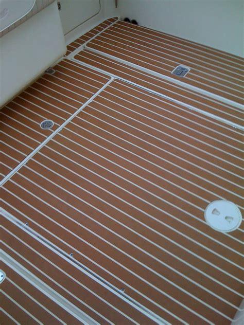 plasdeck synthetic teak decking  hull truth boating
