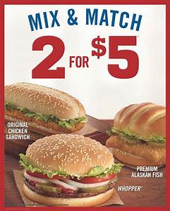 Awesome Deal At Burger King Plus Get A $10 Gift Card