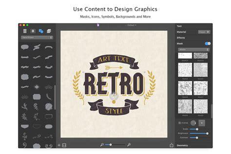 typography art generator for mac