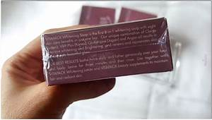 Review  Vitapack Whitening Soap 8-in-1