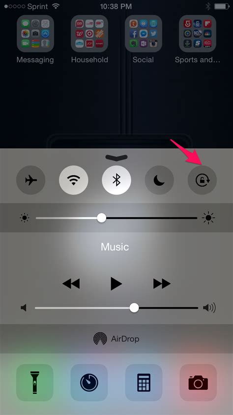 rotate iphone on the iphone 5s where do you turn on auto rotate