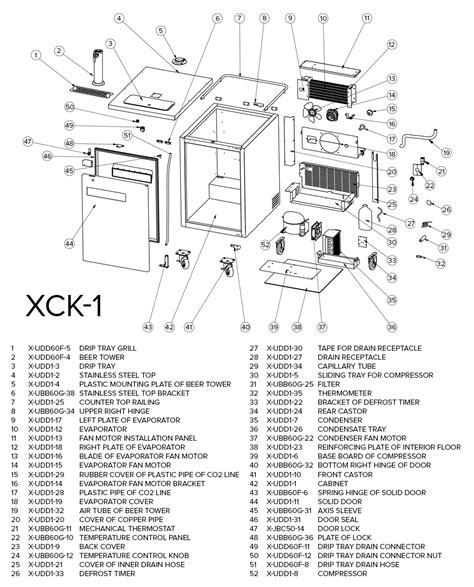 Danby Kegerator Parts Manual