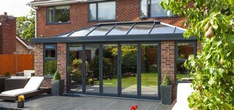 modern orangery  grey conservatory conservatory