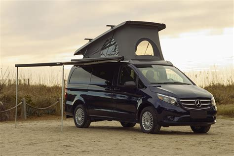 We've had the privilege to get up close and personal with a this mercedes camper is perfect for the gnarliest off grid adventure and has more than enough. Mercedes-Benz Weekender Camper Van | HiConsumption