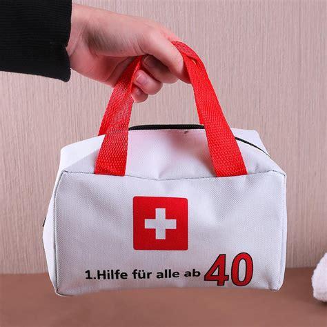 40 geburtstag geschenkideen kleiner notfallkoffer zum 40 geburtstag geschenke de