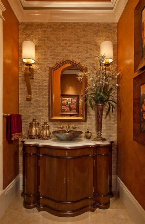 bathrooms wrapped  warm colors remodeling contractor