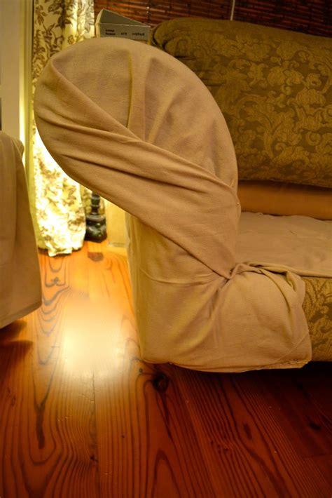 No Sew Cushion Covers Sofa by Ediblecreativity Tuck Pin Done No Sew Loveseat