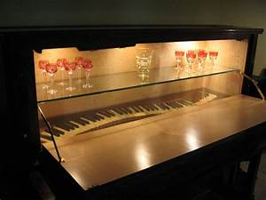Hand Made Piano/Bar Cabinet by Michael Meyer Fine