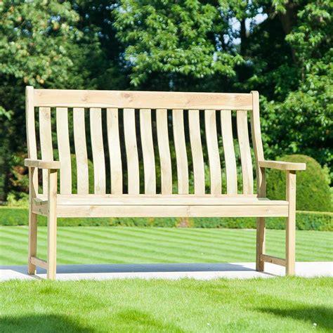 pine farmers ft fsc garden bench  alexander rose