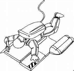 Werkzeug Mit A : astronaut mit werkzeug ausmalbild malvorlage science fiction ~ Orissabook.com Haus und Dekorationen