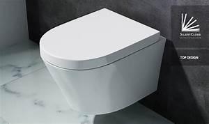 Hänge Wc Höhe : edle design toilette h nge wc mit silent close sitz neu markenartikel aachen108 ebay ~ Markanthonyermac.com Haus und Dekorationen