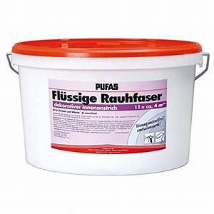 Flüssige Rauhfaser Erfahrungen : pufas fl ssige rauhfaser 10 liter ~ Lizthompson.info Haus und Dekorationen