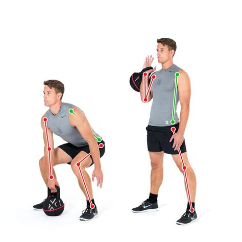 clean kettlebell exercise leg ex gymbox