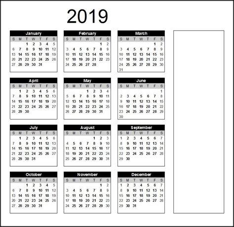 printable calendar  word calendar