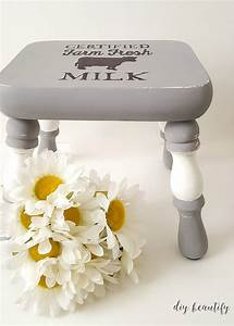 How, To, Update, A, Plain, Stool, With, Farmhouse, Style