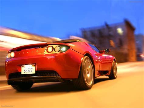 Tesla Roadster Sport Exotic Car Wallpapers 26 Of 72