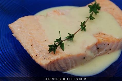 saumon braise au champagne poissons  crustaces