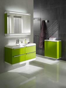 decoration salle de bain vert anis With salle de bain vert anis
