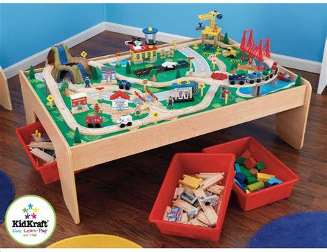 Upcycled Kidkraft Train (and Lego) Table