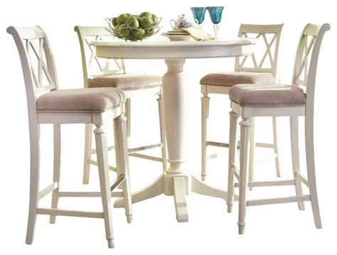 american drew camden light counter height ped table