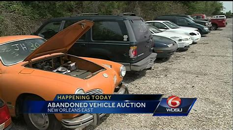 Abandoned Car Auction Today Youtube