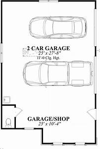Ideas For A Narrow Two Car Garage Joy Studio Design
