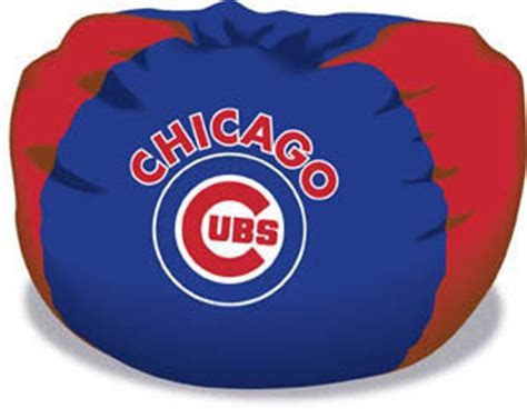 chicago cubs bean bag