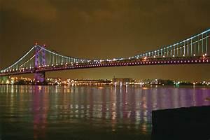 Ben Franklin Bridge I-676 And Us 30