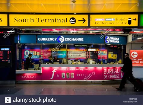 bureau de change gatwick airport bureau de change operated by international currency