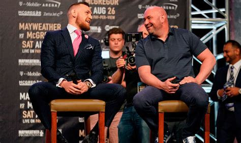 conor mcgregor s return date has seemingly been revealed by white ufc sport express co uk