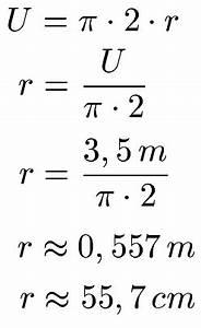 Tapeten Berechnen Formel : umfang kreis kreisumfang ~ Markanthonyermac.com Haus und Dekorationen