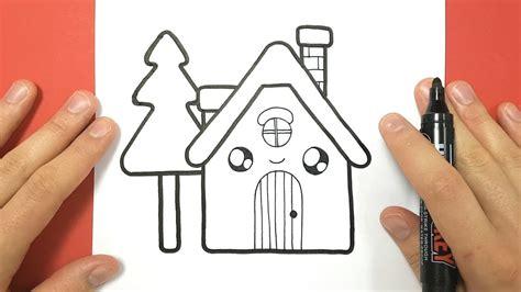 Comment Dessiner Une Maison Kawaii Avec Un Sapin