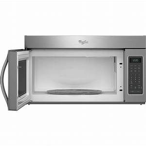 Whirlpool Wmh31017as 1 7 Cu  Ft  Over