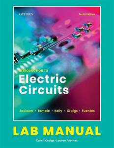 Introduction To Electric Circuits  Lab Manual  10th