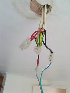 Odd wiring in ceiling rose diynot forums