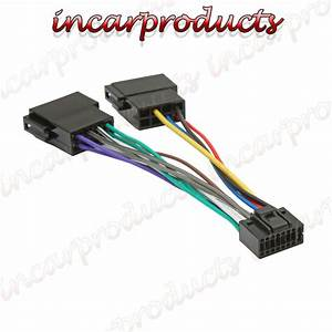 Kenwood    Jvc 16 Pin Iso Wiring Harness Connector Adaptor