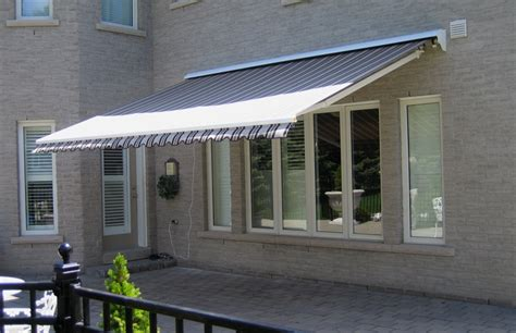 motorized awning rolltec retractable awnings toronto ontario canada