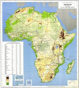 Maps of Africa and African countries | Political maps ...
