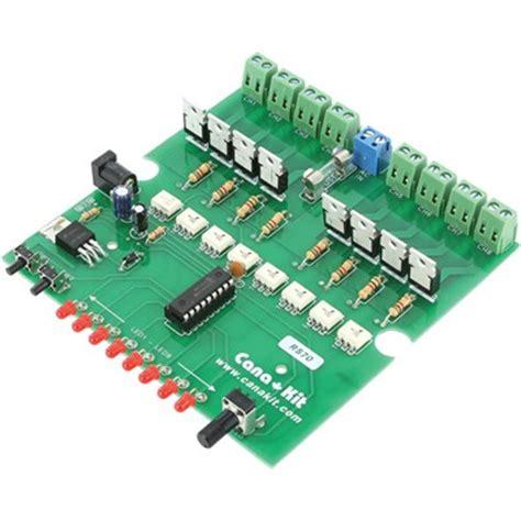 christmas light chaser circuit light chaser 8 channel 20 program ac version kit