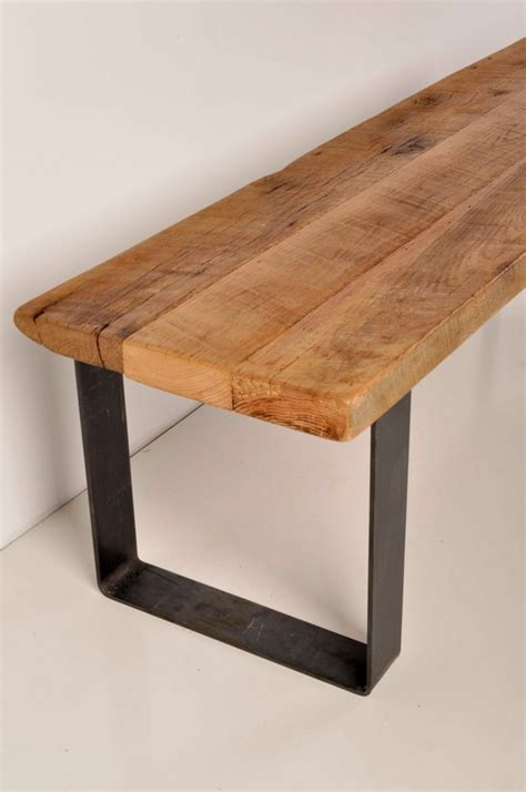 Inspirations: Metal Bench Legs With Custom Sizes For