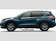 New Nissan XTrail Hybrid Body colors, view picture, photo