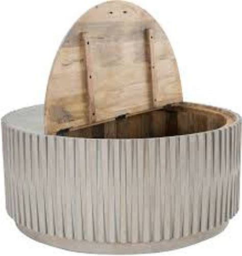 You can fit a round wood coffee table into almost any room design. Classic Home 40 Round Coffee Table 51011258
