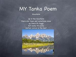 tanka poems With tanka poem template