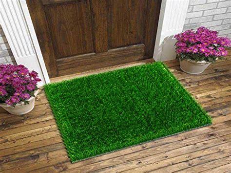 grass doormat grass door mat 26x18 inches large welcome mat for