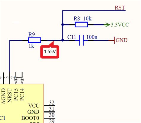 Microcontroller Problem With The Reset Circuit For Mcu