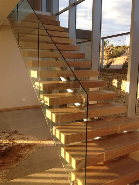 Treppenstufen Aus Glas by Open Stair With Timber Treads And Steel Structure Beneath