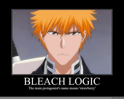 Bleach Anime Memes - bleach logic anime meme com