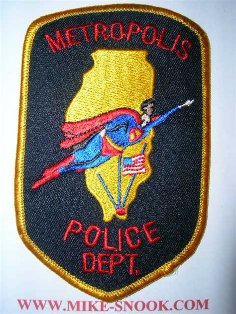 mike snooks police patch collection metafilter