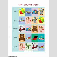Toys Vocabulary  Interactive Worksheet